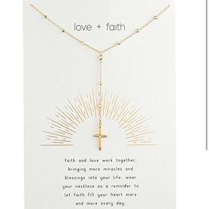 Dogeared Love and Faith necklace